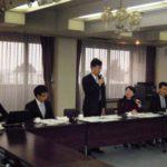 台湾全国産業総工会視察団受入れの様子