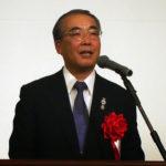 挨拶する長崎県知事